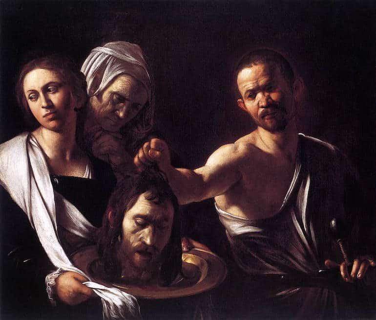 CaravaggioSalome-770x654